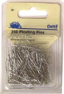 1-1//16-Inch 200-Count Nickel-Plated Brass Dritz 49 Silk Pins